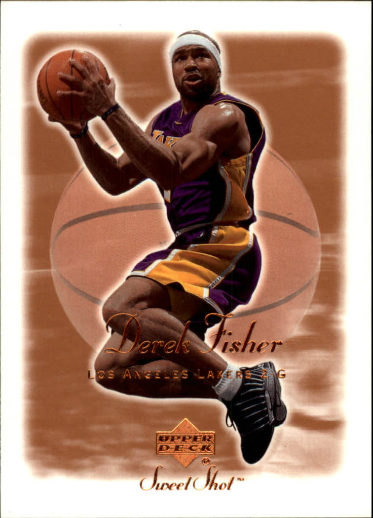2001-02 Sweet Shot #41 Derek Fisher