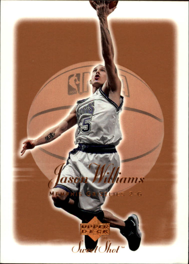 2001-02 Sweet Shot #43 Jason Williams