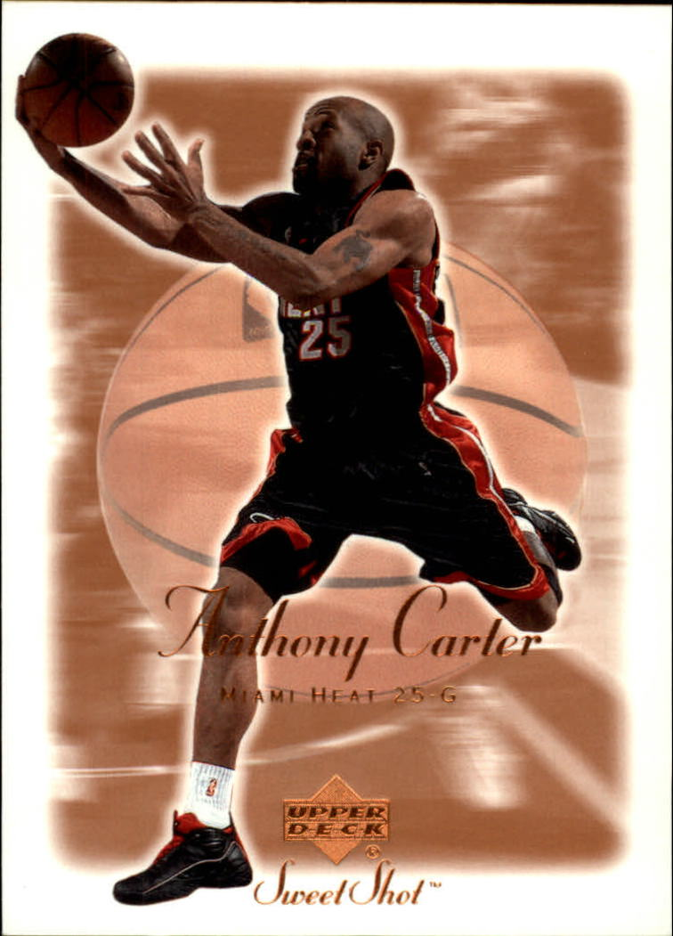 2001-02 Sweet Shot #47 Anthony Carter