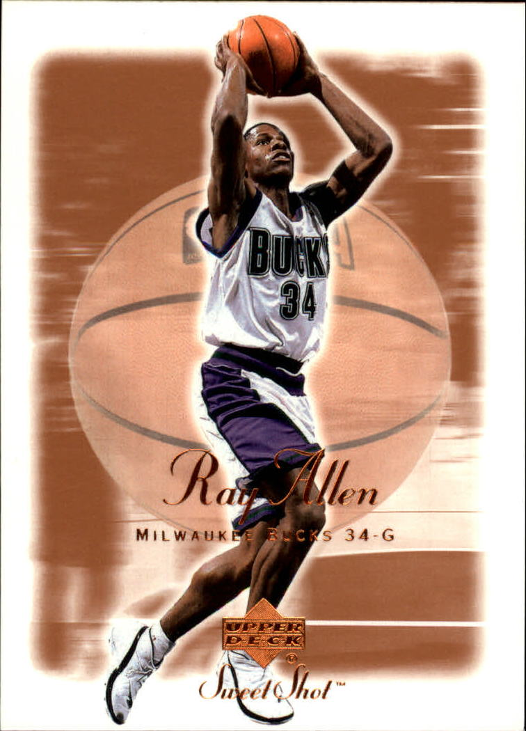 2001-02 Sweet Shot #49 Ray Allen