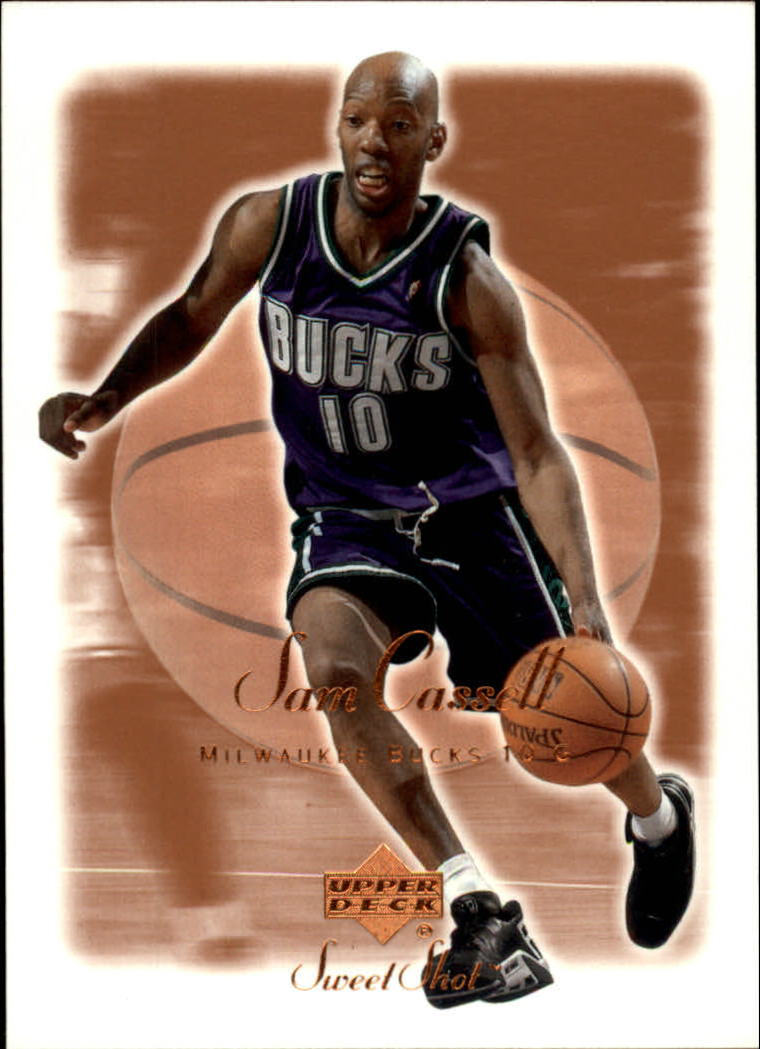 2001-02 Sweet Shot #50 Sam Cassell