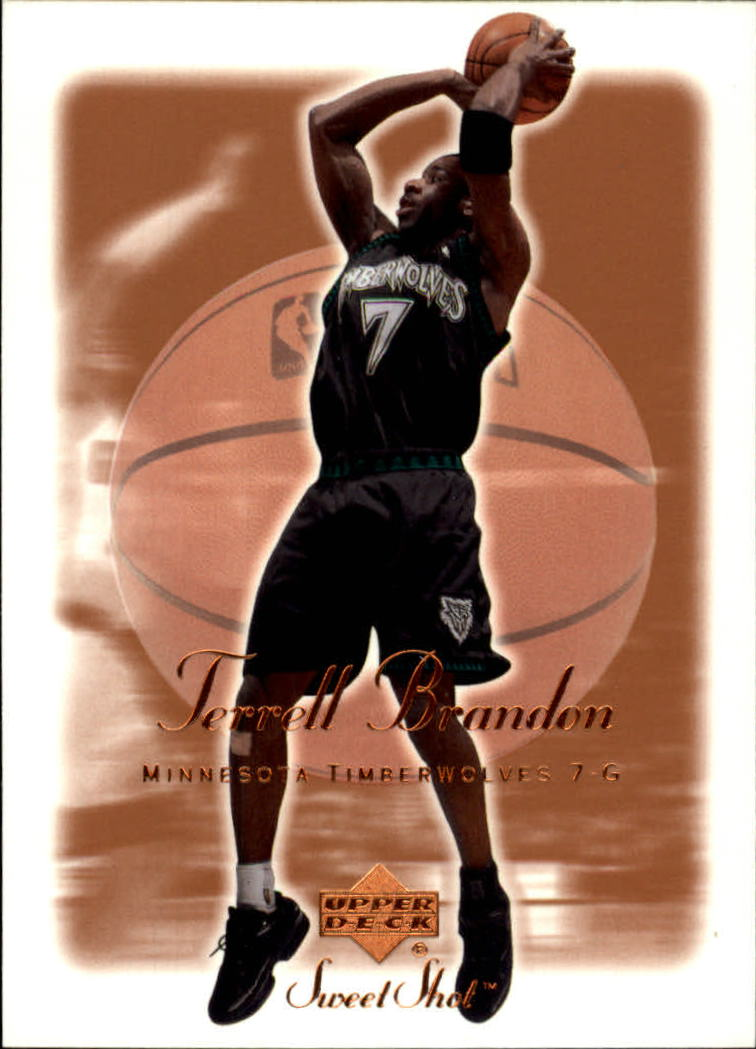 2001-02 Sweet Shot #53 Terrell Brandon