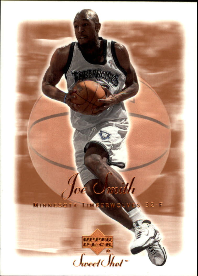 2001-02 Sweet Shot #54 Joe Smith