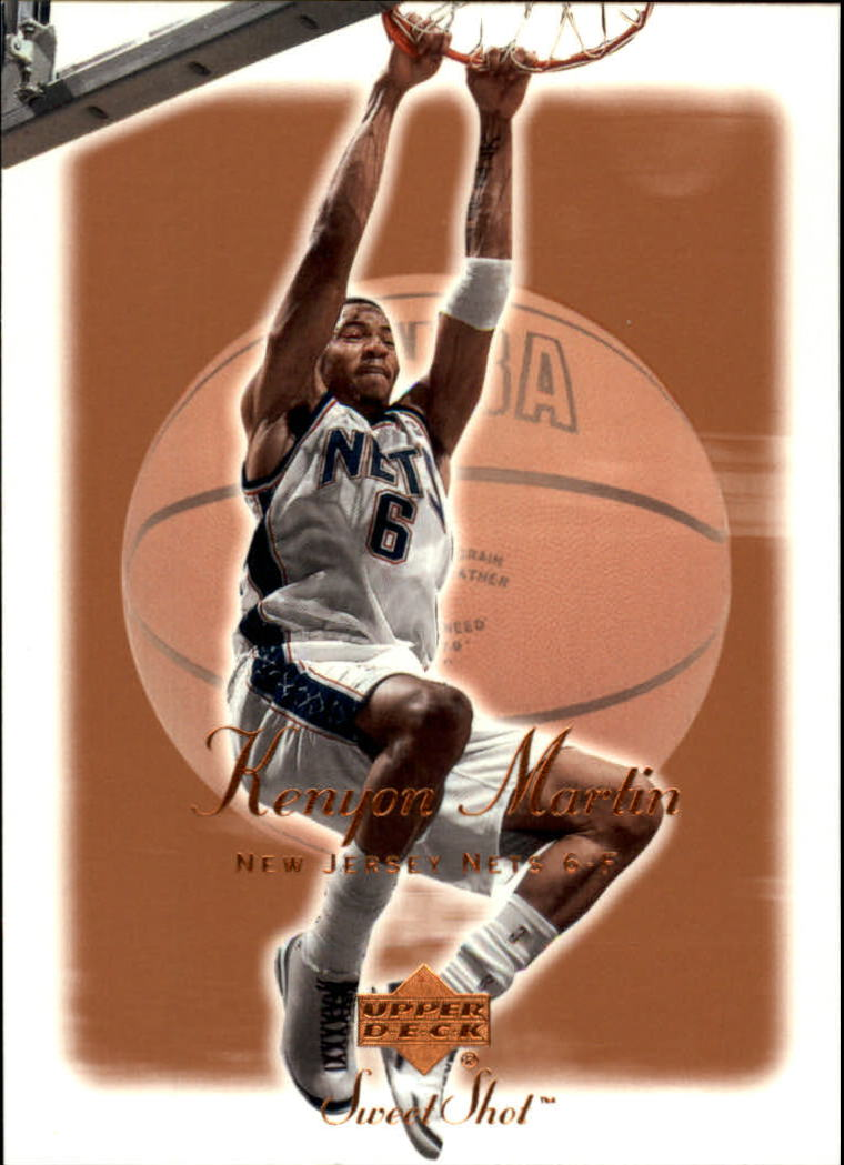 2001-02 Sweet Shot #55 Kenyon Martin