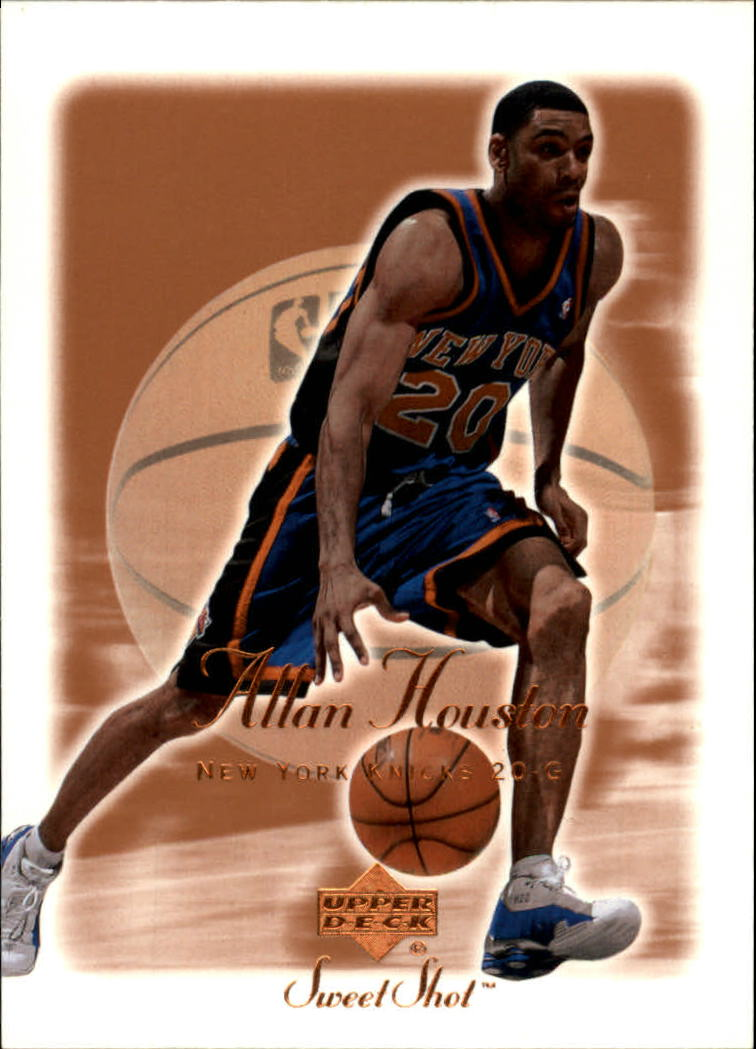 2001-02 Sweet Shot #59 Allan Houston