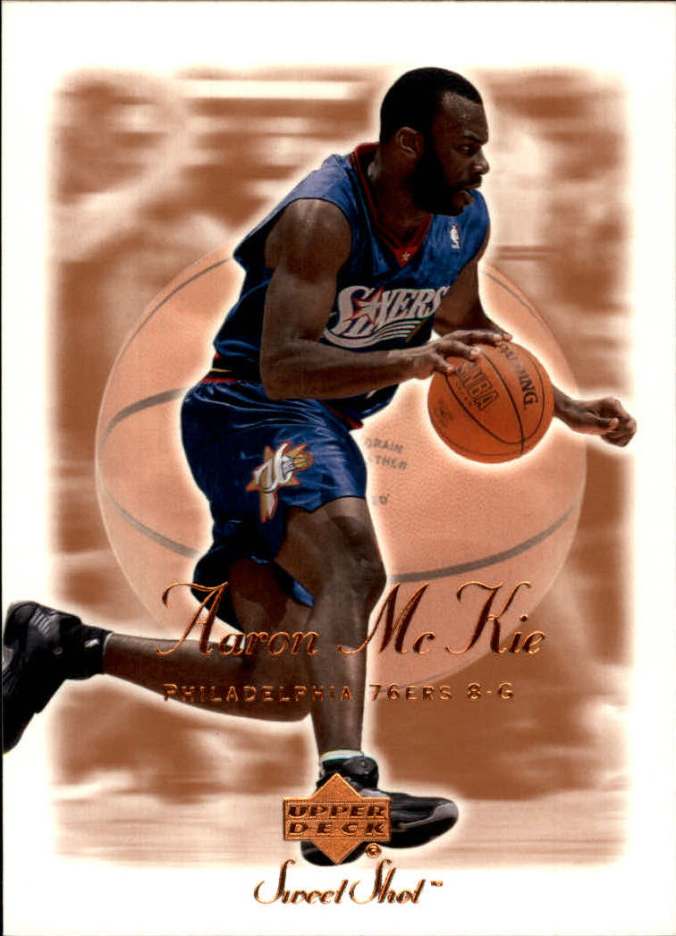 2001-02 Sweet Shot #66 Aaron McKie