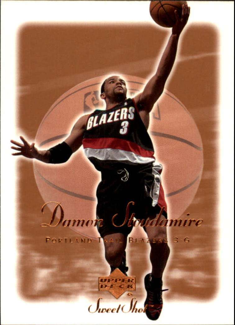 2001-02 Sweet Shot #71 Damon Stoudamire