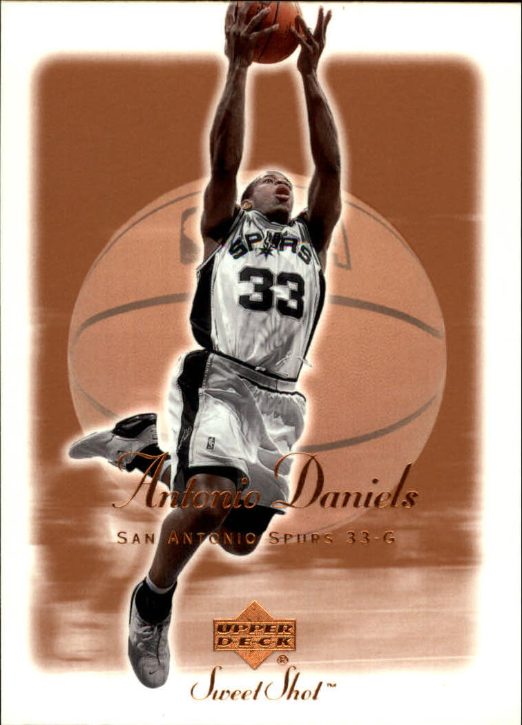 2001-02 Sweet Shot #78 Antonio Daniels