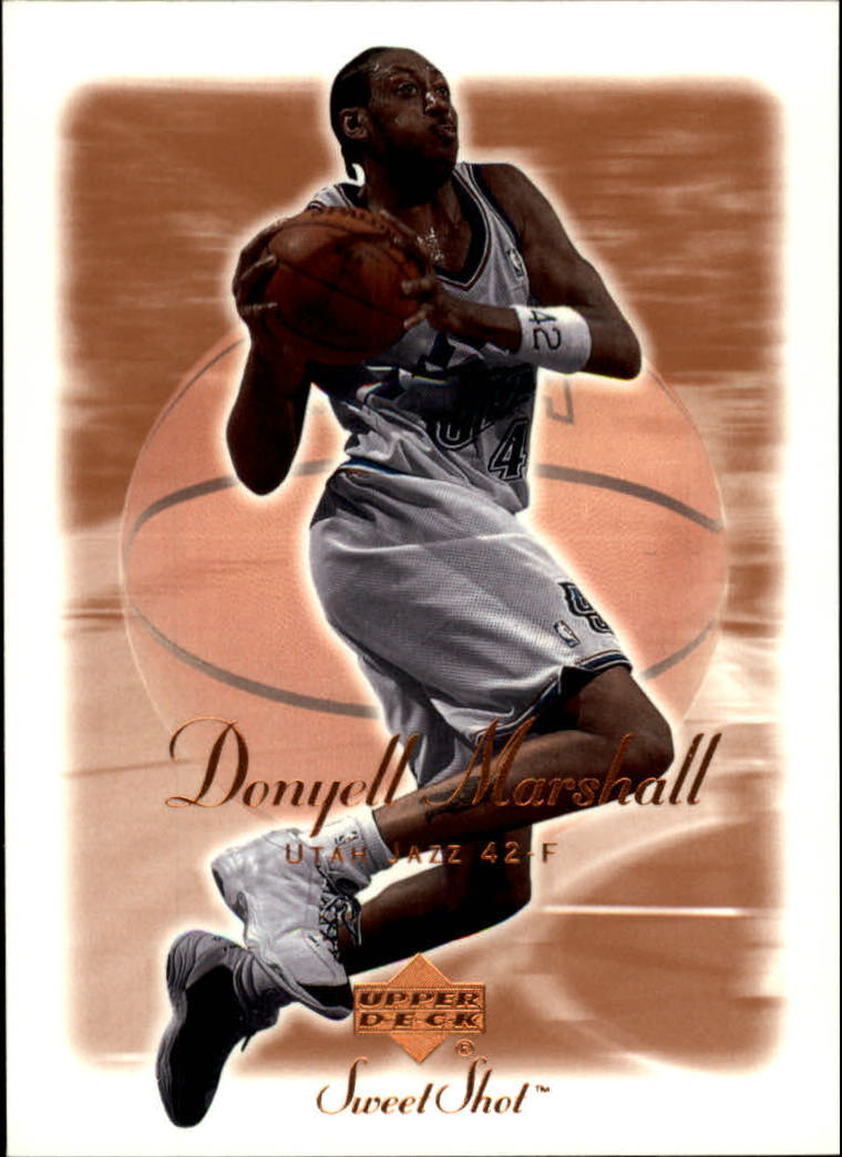 2001-02 Sweet Shot #87 Donyell Marshall