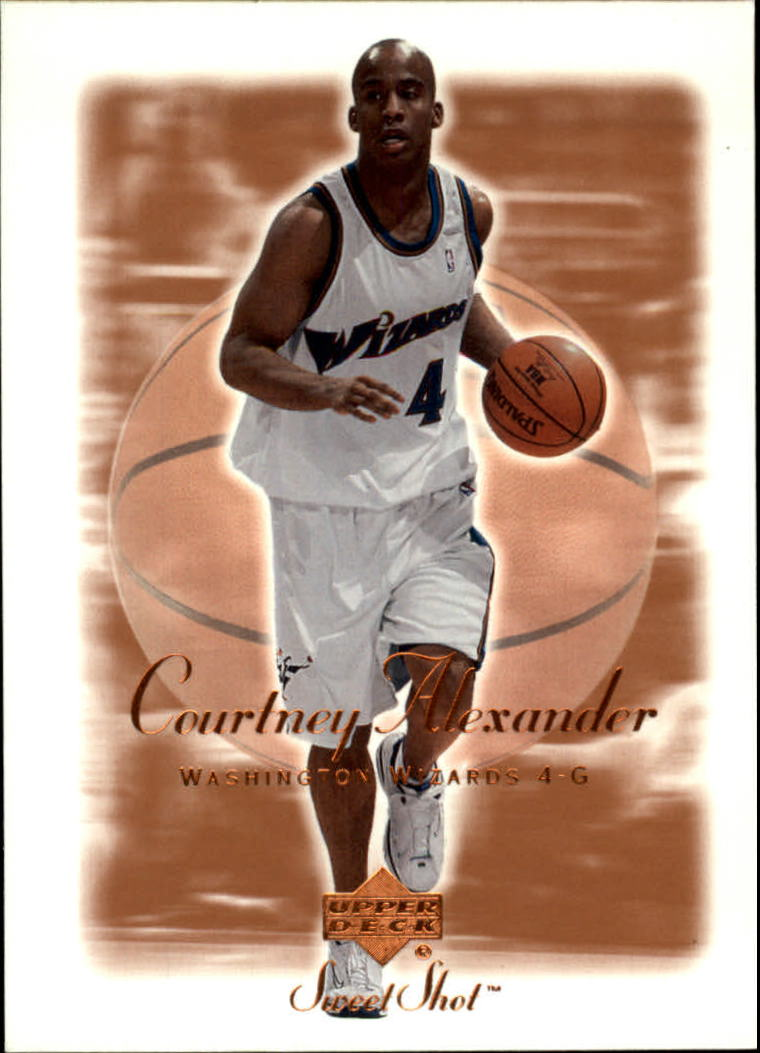2001-02 Sweet Shot #89 Courtney Alexander