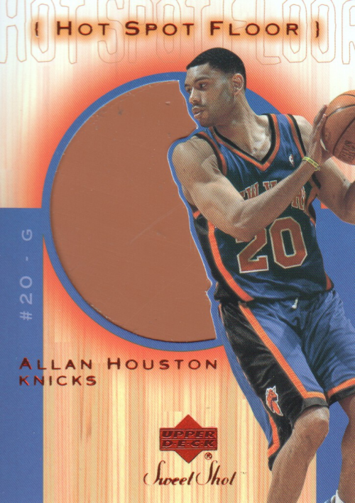 2001-02 Sweet Shot Hot Spot Floor #AHF Allan Houston