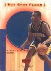2001-02 Sweet Shot Hot Spot Floor #JOF Jermaine O'Neal