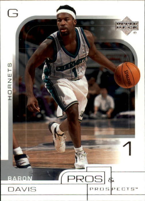 2001-02 Upper Deck Pros and Prospects #8 Baron Davis