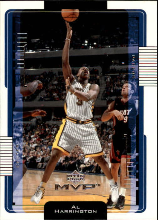 2001-02 Upper Deck MVP #69 Al Harrington