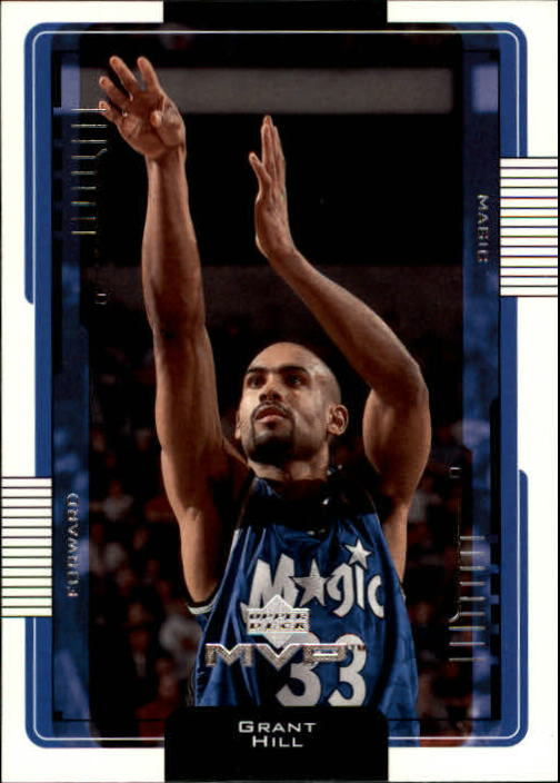 2001-02 Upper Deck MVP #119 Grant Hill