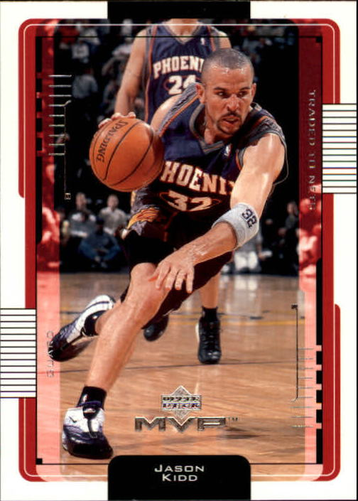 2001-02 Upper Deck MVP #129 Jason Kidd