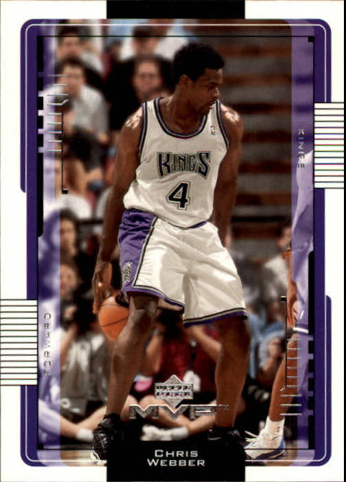 2001-02 Upper Deck MVP #143 Chris Webber