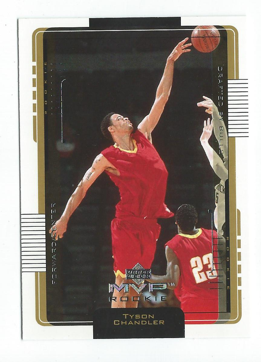2001-02 Upper Deck MVP #193 Tyson Chandler RC