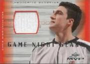 2001-02 Upper Deck MVP Game Night Gear #CMG Chris Mihm
