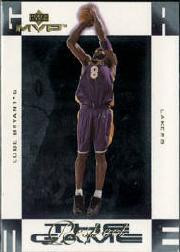 2001-02 Upper Deck MVP Respect the Game #RG1 Kobe Bryant
