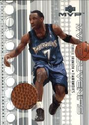 2001-02 Upper Deck MVP Souvenirs #TB Terrell Brandon