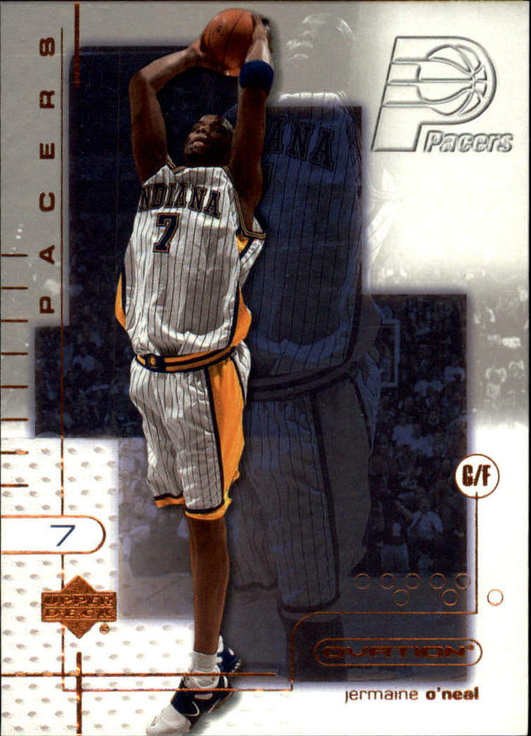 2001-02 Upper Deck Ovation #33 Jermaine O'Neal