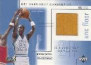 2001-02 Upper Deck Ovation MJ UNC Memorabilia #MJF3 Michael Jordan Floor