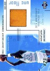 2001-02 Upper Deck Ovation MJ UNC Memorabilia #MJF4 Michael Jordan Floor
