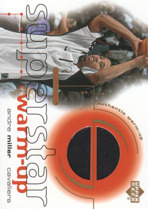2001-02 Upper Deck Ovation Superstar Warm-Ups #AM Andre Miller