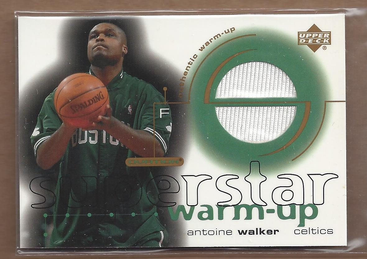 2001-02 Upper Deck Ovation Superstar Warm-Ups #AW Antoine Walker