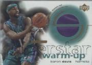 2001-02 Upper Deck Ovation Superstar Warm-Ups #BD Baron Davis
