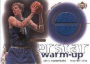 2001-02 Upper Deck Ovation Superstar Warm-Ups #DN Dirk Nowitzki