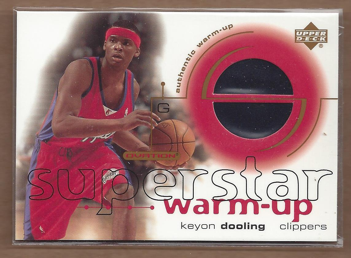 2001-02 Upper Deck Ovation Superstar Warm-Ups #KD Keyon Dooling
