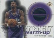 2001-02 Upper Deck Ovation Superstar Warm-Ups #KM Karl Malone