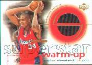 2001-02 Upper Deck Ovation Superstar Warm-Ups #MO Michael Olowokandi