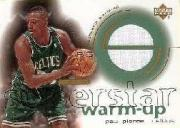 2001-02 Upper Deck Ovation Superstar Warm-Ups #PP Paul Pierce