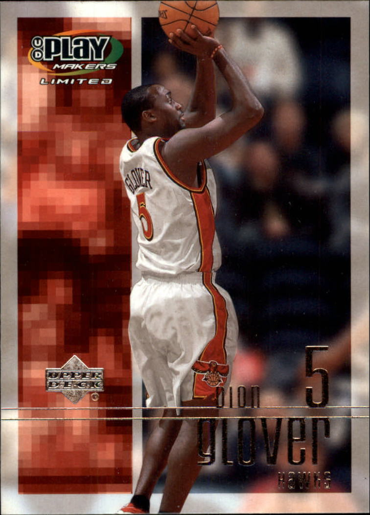 2001-02 Upper Deck Playmakers #2 Dion Glover