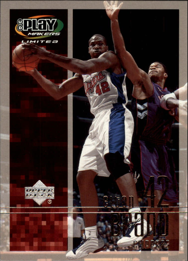 2001-02 Upper Deck Playmakers #36 Elton Brand