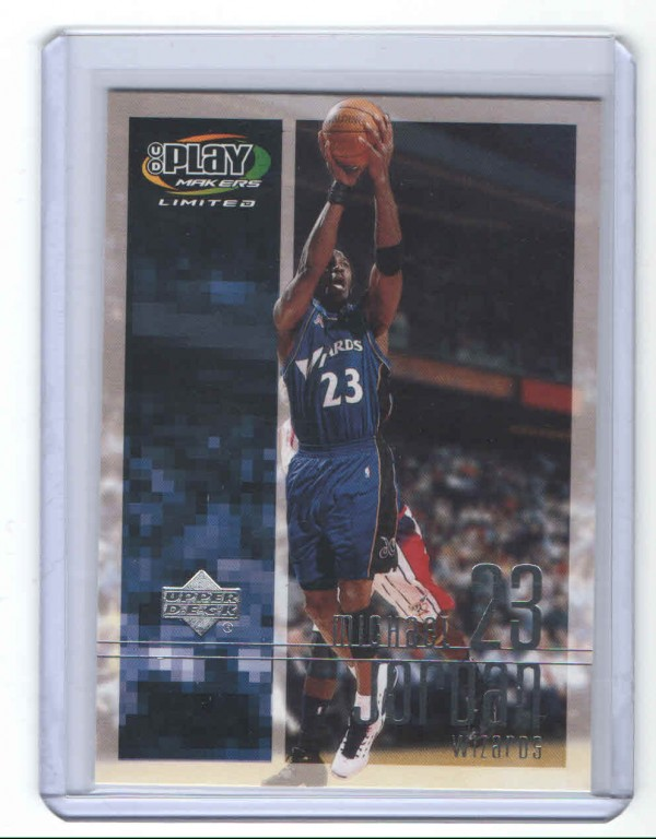 2001-02 Upper Deck Playmakers #98 Michael Jordan