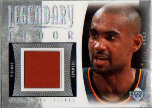 2001-02 Upper Deck Legends Legendary Floor #GHF Grant Hill
