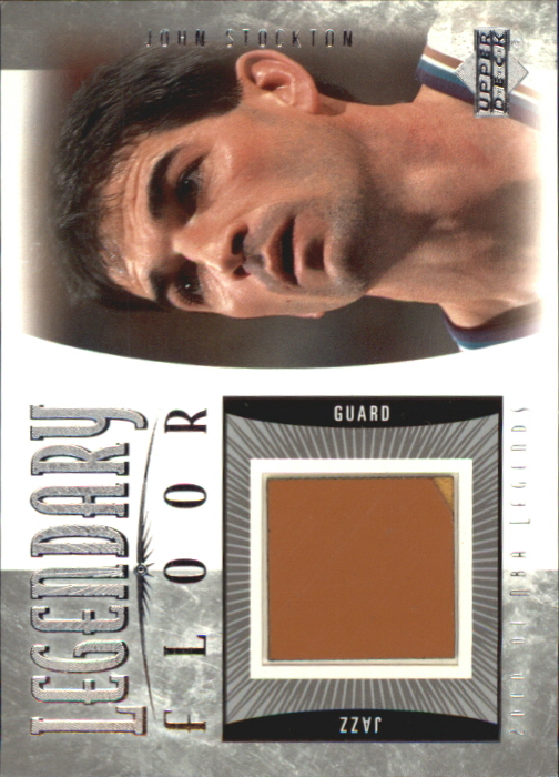 2001-02 Upper Deck Legends Legendary Floor #JSF John Stockton