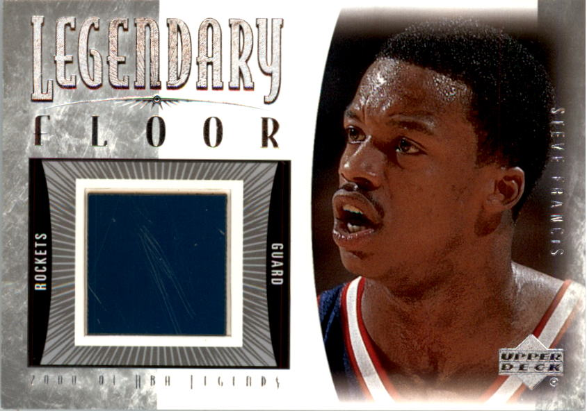 2001-02 Upper Deck Legends Legendary Floor #SFF Steve Francis
