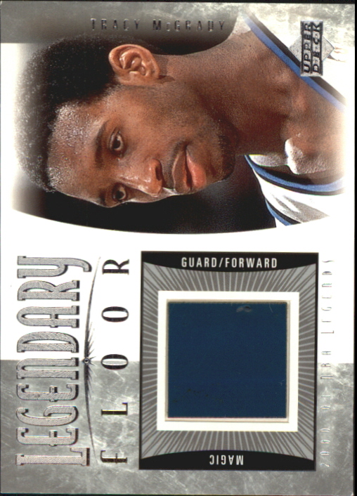 2001-02 Upper Deck Legends Legendary Floor #TMF Tracy McGrady