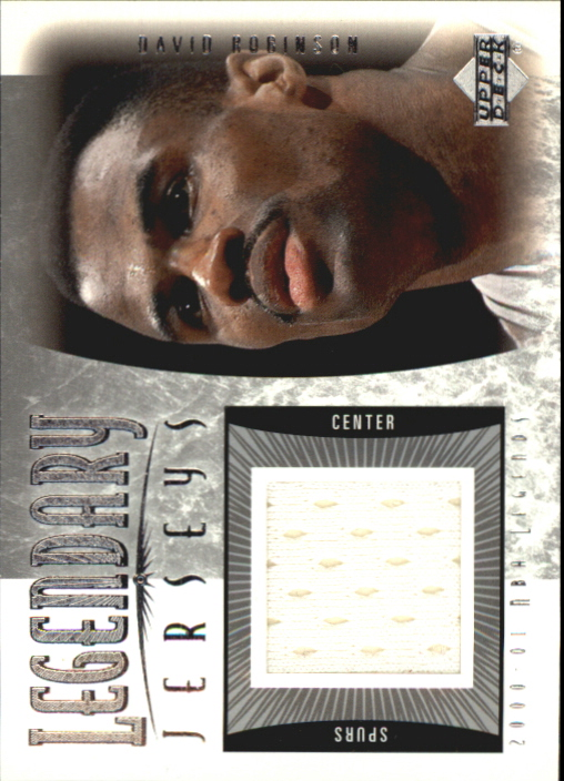 2001-02 Upper Deck Legends Legendary Jerseys #DAJ David Robinson