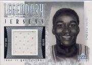 2001-02 Upper Deck Legends Legendary Jerseys #ITJ Isiah Thomas