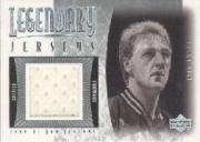 2001-02 Upper Deck Legends Legendary Jerseys #LBJ Larry Bird