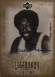 2001-02 Upper Deck Legends Legendary Signatures #EM Earl Monroe
