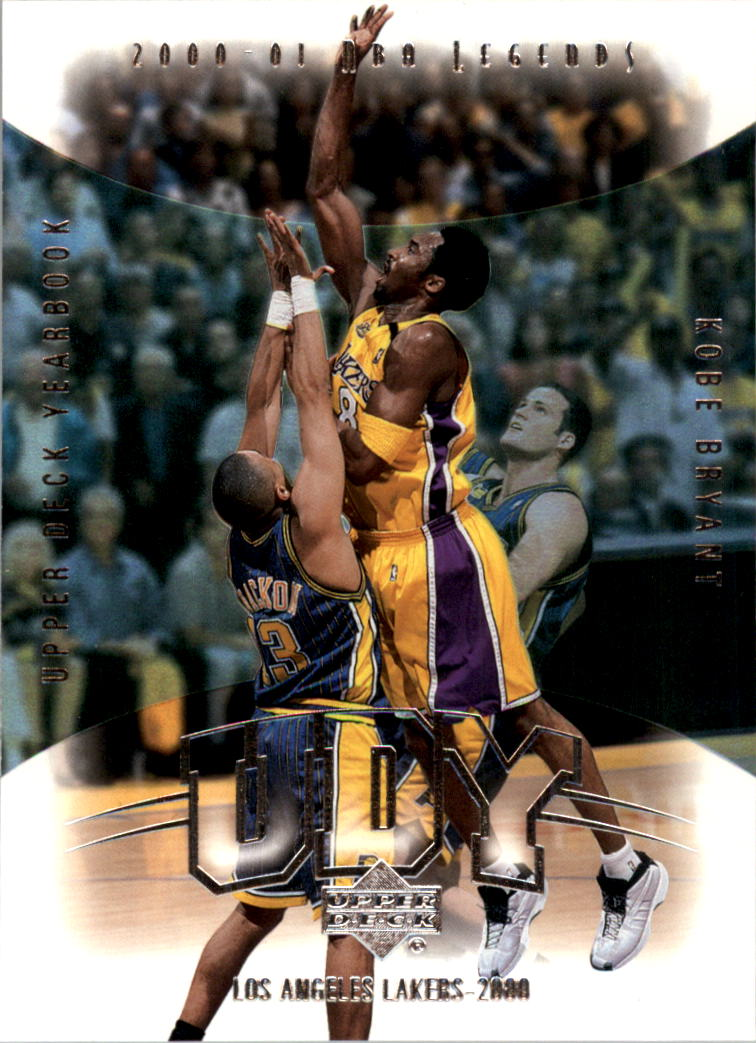 2001-02 Upper Deck Legends Yearbook #Y2 Kobe Bryant