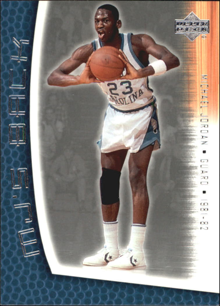 2001-02 Upper Deck MJ's Back #MJ4 Michael Jordan/Rookie Statistics