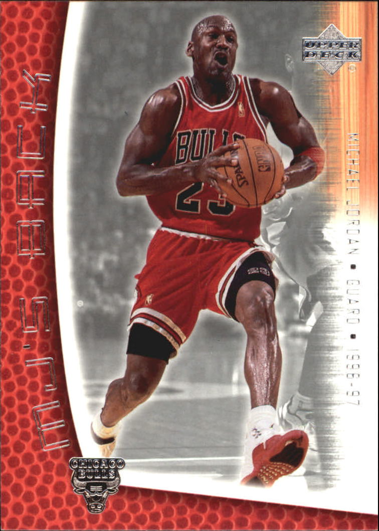2001-02 Upper Deck MJ's Back #MJ22 Michael Jordan/Bullet Points/Bio front image